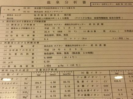 7242016 旭岳温泉ラビスタ大雪山S2