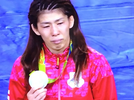 8192016 吉田沙保里銀メダルS