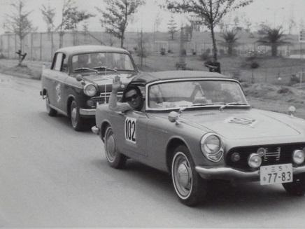 愛車HS600でラリー参戦1965S
