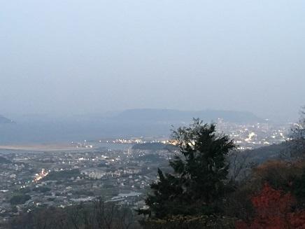 12092016 白峯山中腹から高松市内S