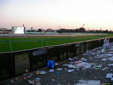競馬場 汚い 2