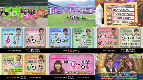 2016年 阪神ジュベナイルフィリーズ うまんちゅ8