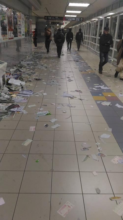 【画像】中山競馬場汚すぎ