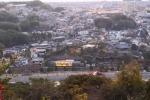 大吉山から見た平等院