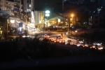 大吉山から見た宇治橋(夜)