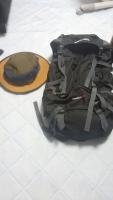 帽子とリュック