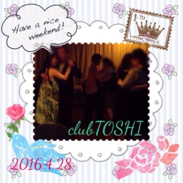 2016.4.28 clubTOSHI