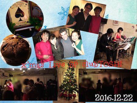 2016_12_22_clubTOSHI Xmas SP LiveM