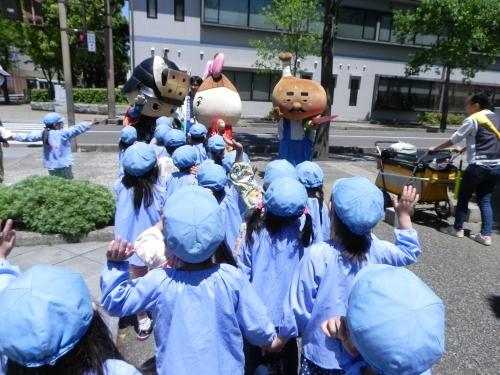 丸亀城を描く は kids art i!