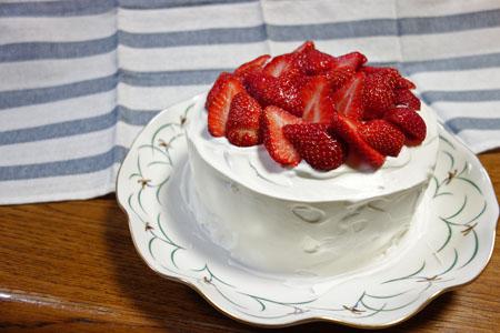 4月24日ショートケーキ