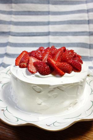 4月24日ショートケーキ2