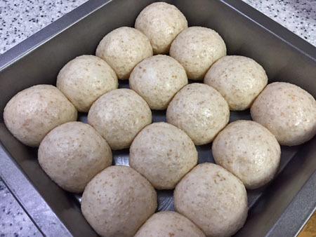 12月18日 ちぎパン 発酵中
