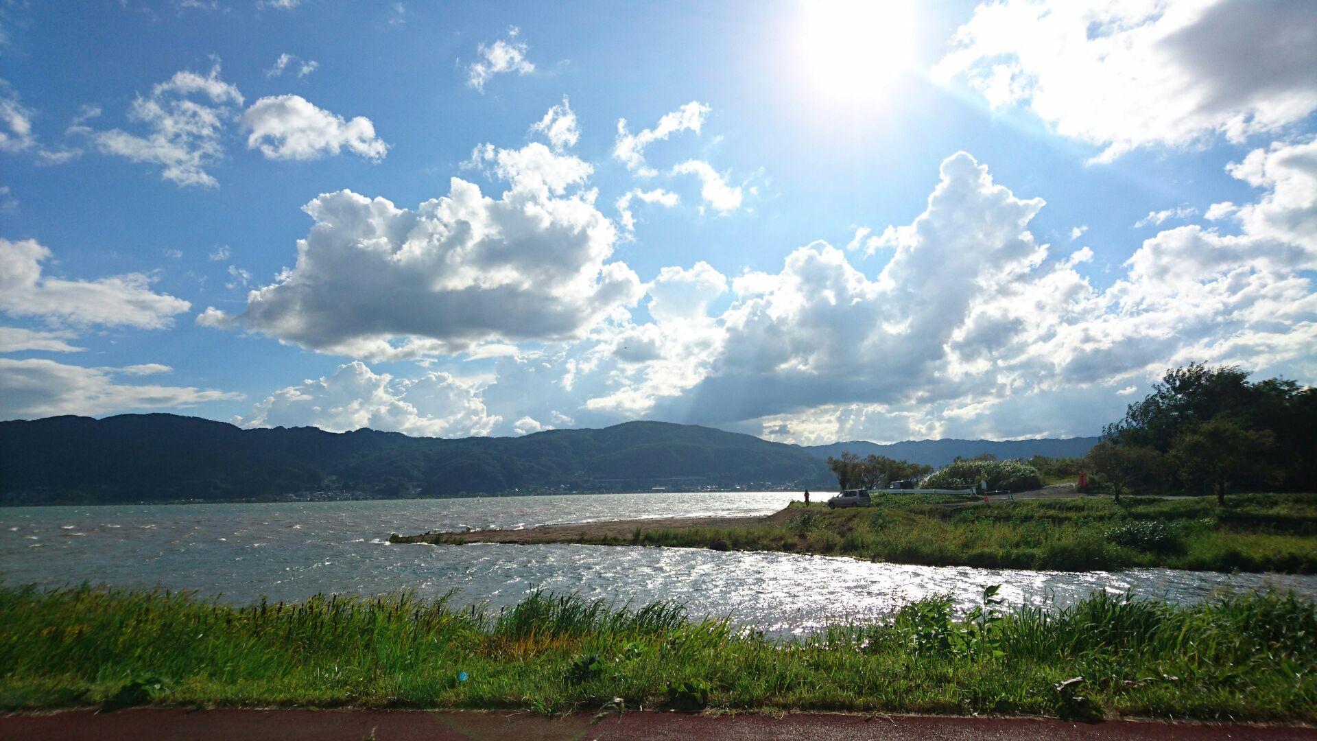 諏訪湖沿岸2