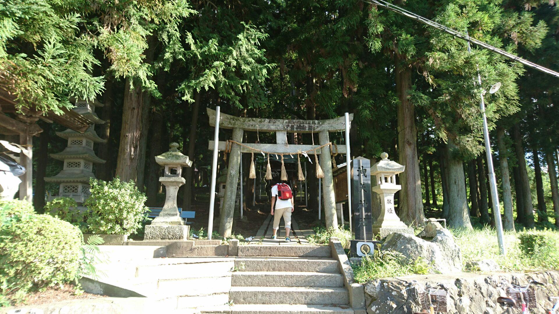 洩矢神社1
