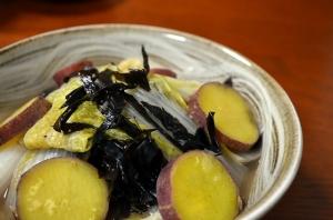 2016/11/01/白菜と薩摩芋の重ね煮