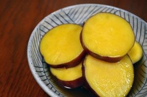 2016/11/02/薩摩芋の煮物