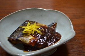 2016/11/12/鯖の柚子味噌煮