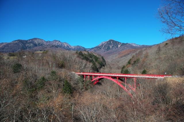 八ヶ岳-赤い橋