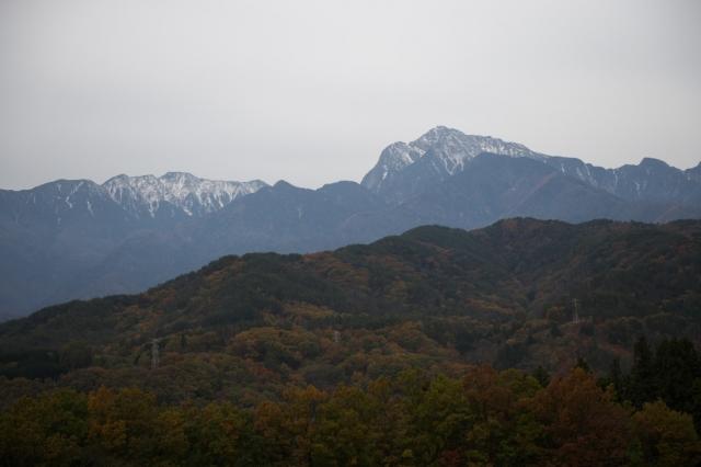 今朝の甲斐駒ヶ岳-01