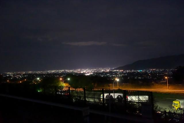 遠く・・・・甲府の夜景