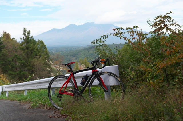 Pinarello-Prince と中山峠-01