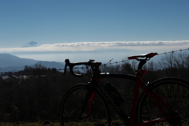 Pinarello Princeと八ヶ岳