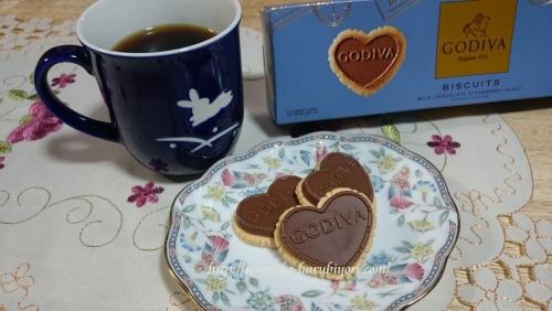 20160501ゴディバストロベリークッキー