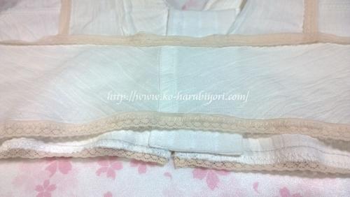 麻生地&麻わた(麻綿)で作る和装ブラジャー