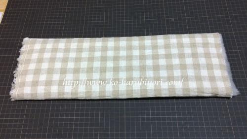 20160701へちまの帯板を麻綿で包み快適に!