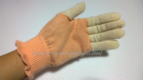 20161217米ぬか繊維ハンドケア手袋●おやすみ手袋