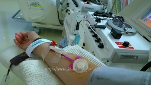 20161222ソラマチ献血ルーム●着物で献血体験