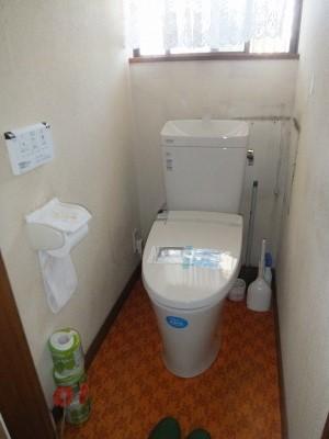 トイレ取替え工事 (5)