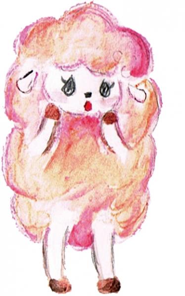 水彩色鉛筆で描きました