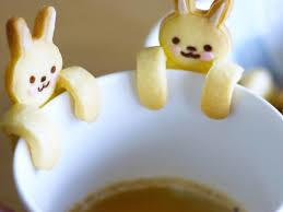 フチクッキーウサギ