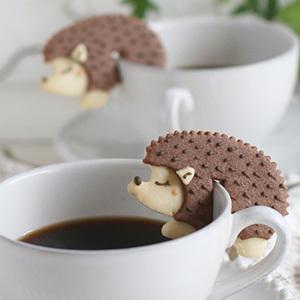 フチクッキーハリネズミ