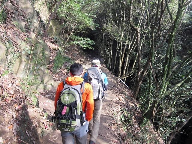 3月の山登り。六甲西滝ケ谷を登りました(^^♪