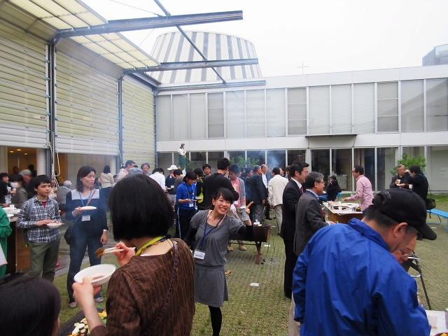 震災以降お世話になっていた長田のコミュニティFM『わぃわぃ』BBQ!永遠に!!