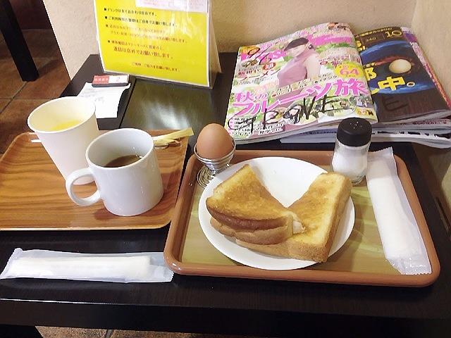 金曜日の昼休みはなんばの『ちとせ』で土曜日の朝は兵庫駅のお得モーニング♪