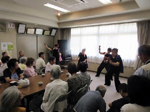 みすがお月見会と戸田酒店で打ち上げ。