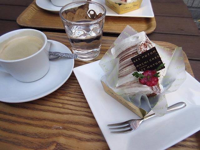 親の合唱コンサートのついでに元町ケーキに寄りました。