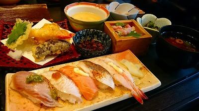 炙り天ぷらランチ