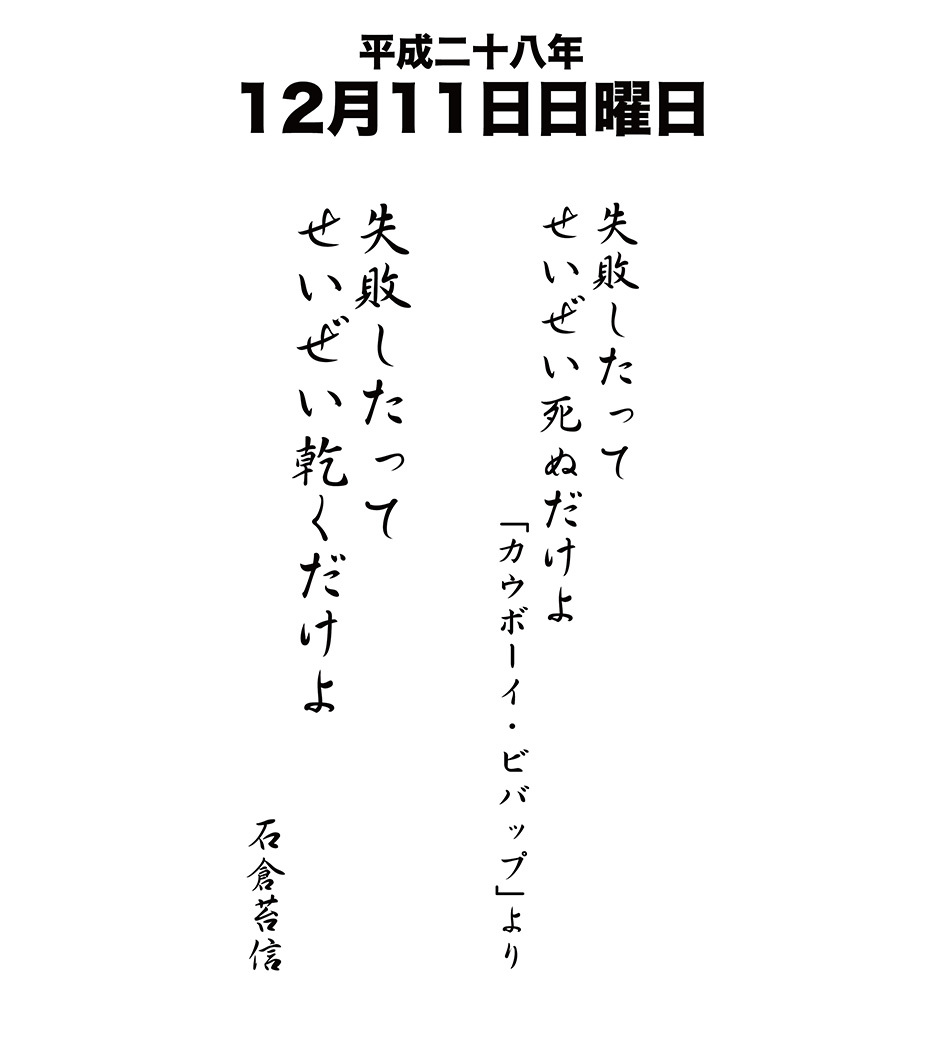 12月11日