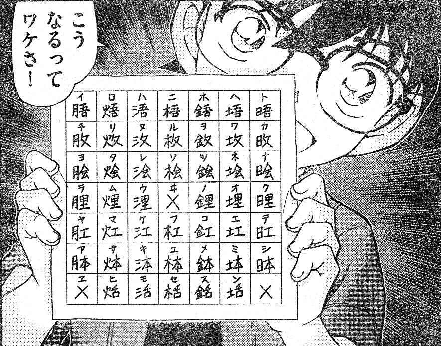 名探偵コナンFILE968~暗号解読...