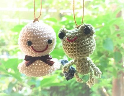 てるてる坊主と蛙さん