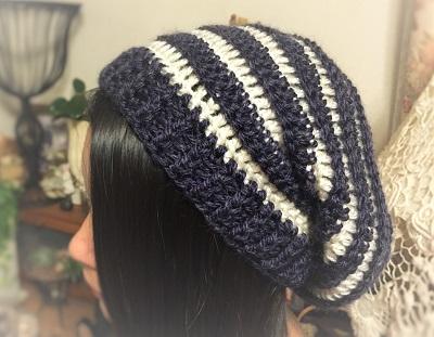 korokoroゆったりニット帽 (4)