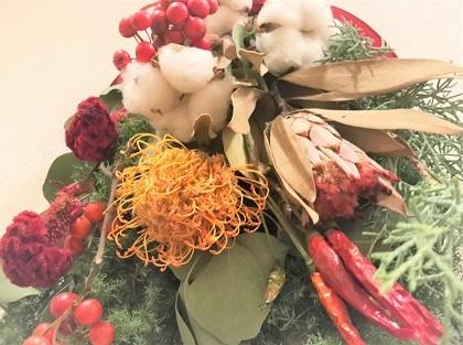 Natural Craft クリスマススワッグ (2)