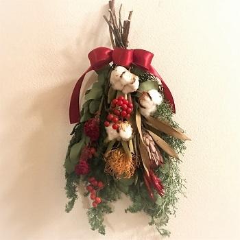 Natural Craft クリスマススワッグ