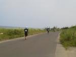 第30回日本海メロンマラソン・海岸線