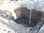 2016年12月6日・浄化槽を設置する穴