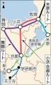 北陸新幹線大阪南回り案